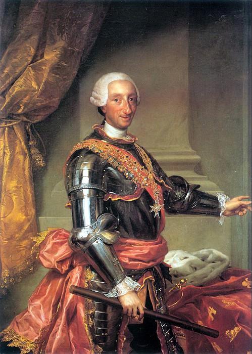 Mengs, Anton Raphael (German, 1728-1779) 3. German artists