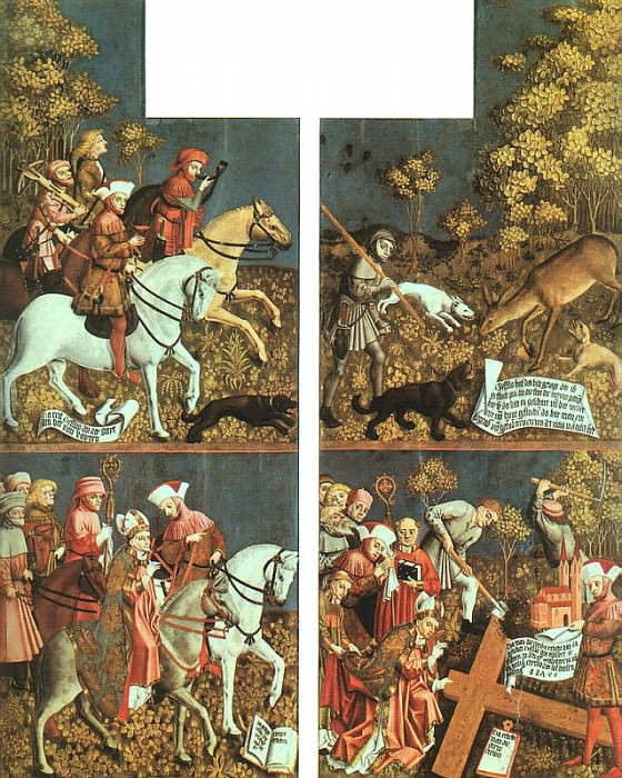 Polling Panels, Master of the (German, Active 1439-1452) 2. Немецкие художники