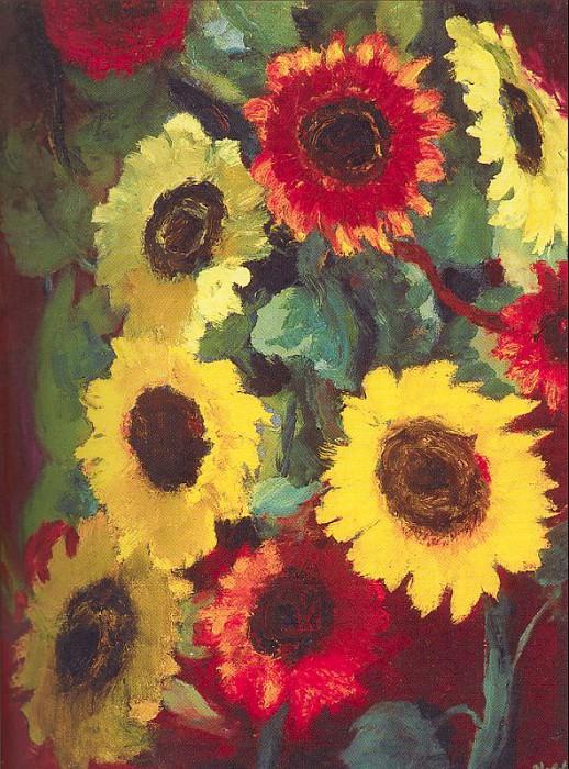 Nolde, Emil (German, 1867-1956) 6. German artists