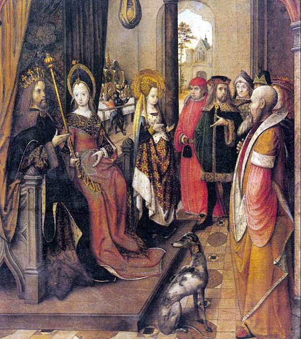 Legend of St. Ursula, Master of the (Active in Germany 1490-1500). German artists