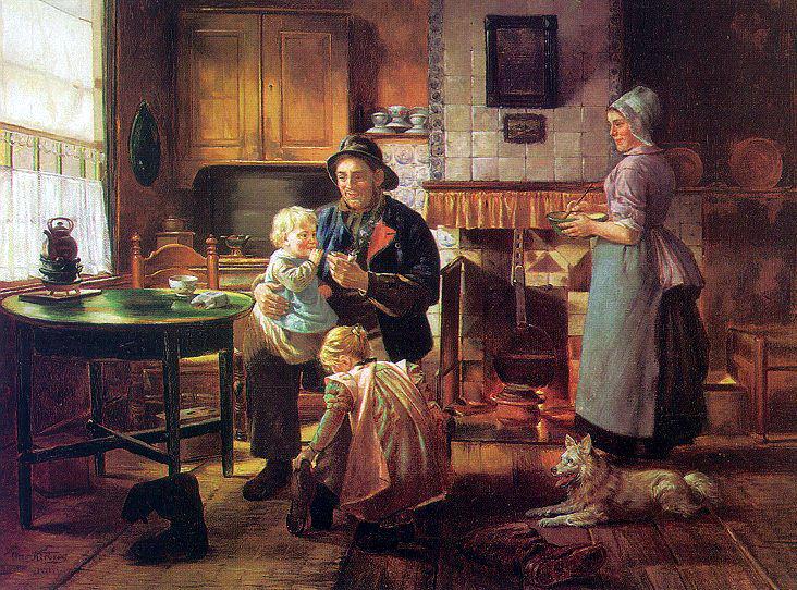 Kirberg, Otto Karl (German, 1850-1926). German artists