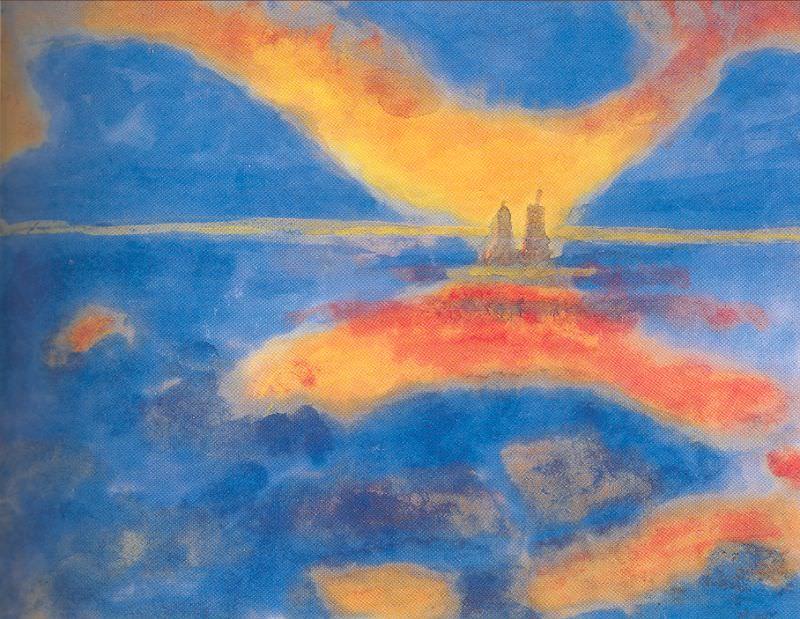 Nolde, Emil (German, 1867-1956) 5. German artists