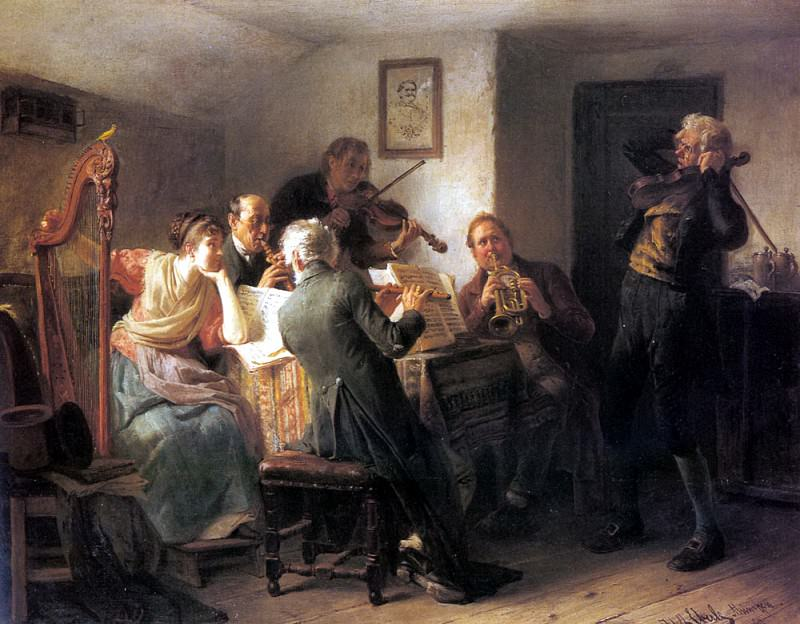 Eberle Adolf The Sour Note. German artists