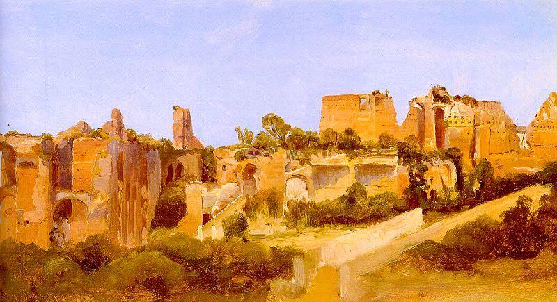 Blechen, Charles (German, 1789-1840). German artists