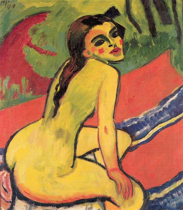 Pechstein, Max (German, 1881-1955) 3. Немецкие художники
