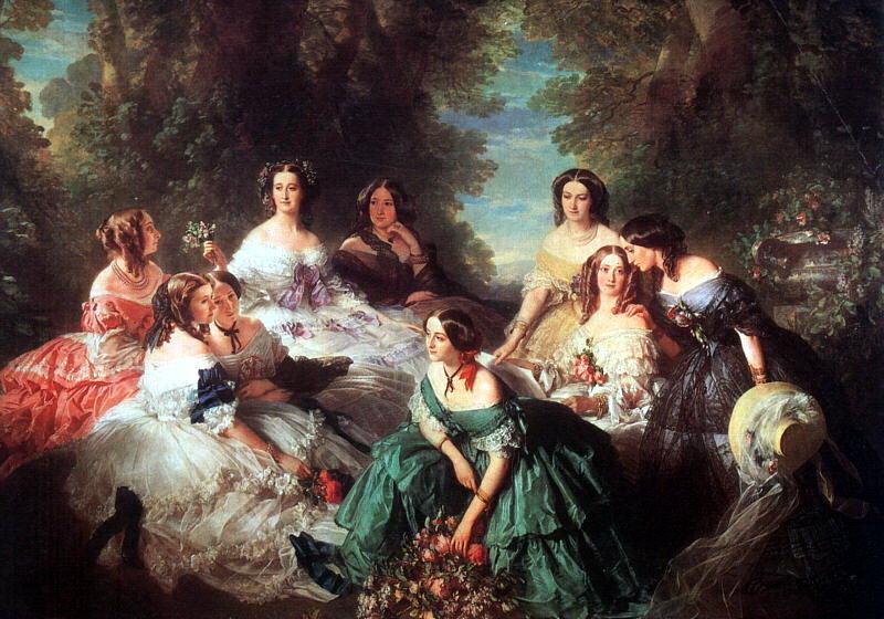 Winterhalter, Franz-Xaver (German, 1805-1873) 2. German artists
