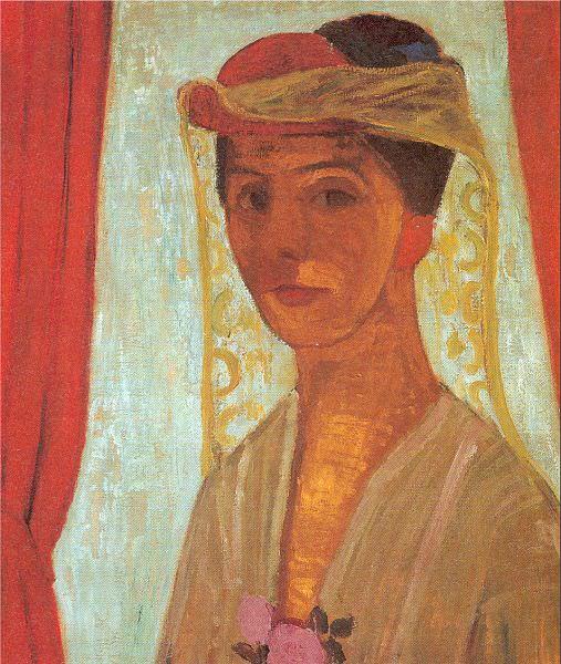 Modersohn - Becker, Paula (German, 1876-1907) 2. Немецкие художники