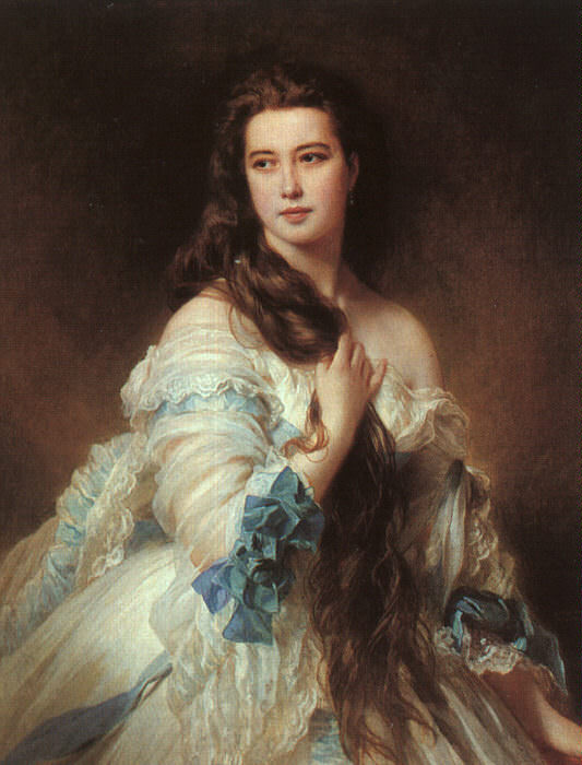 Winterhalter, Franz-Xaver (German, 1805-1873) 1. German artists