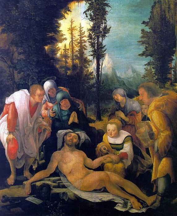 Huber, Wolfgang (German, 1485-1553) 1. Немецкие художники