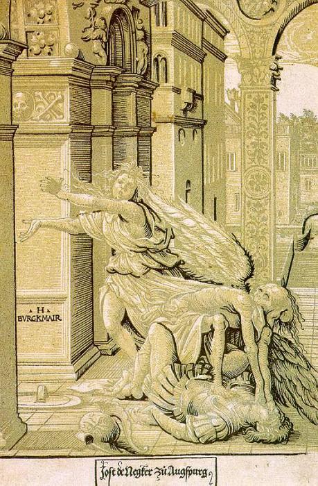 Последователь Бургкмайра Ганса (немец, начало 16 в.). Немецкие художники