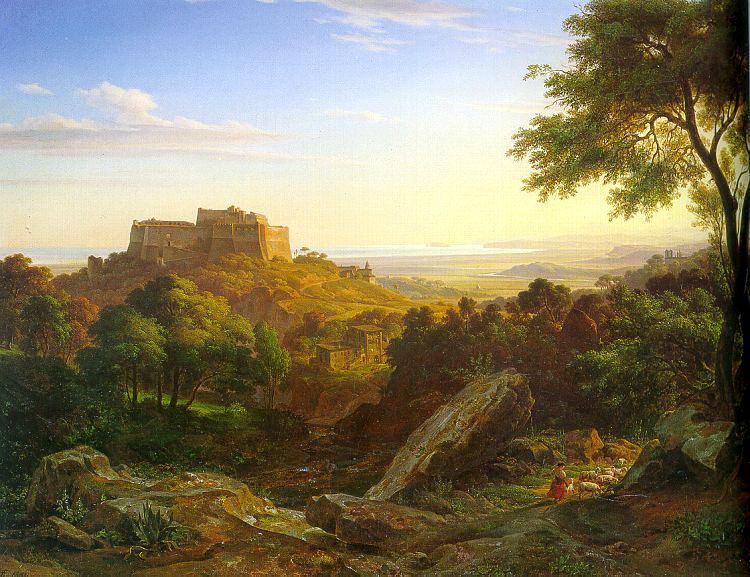 Fries, Ernst (German, 1801-1833) 1. German artists