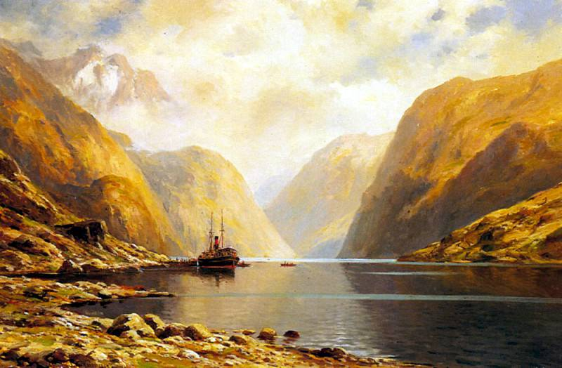 Eckenbrecher Themistocles Von Naero Fjord. German artists
