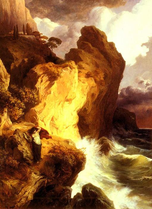 Kanoldt Edmund Friedrich Sappho Am Vorgebrige Leukate. German artists
