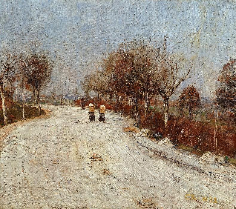 Рольфс, Кристиан (1848-1938) - Дорога в Гельмероду. Старая и Новая Национальные Галереи (Берлин)