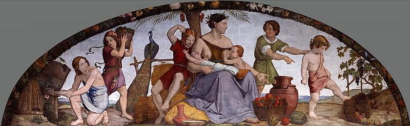 Johann Friedrich Overbeck (1789-1869) - The Seven Fat Years. Alte und Neue Nationalgalerie (Berlin)