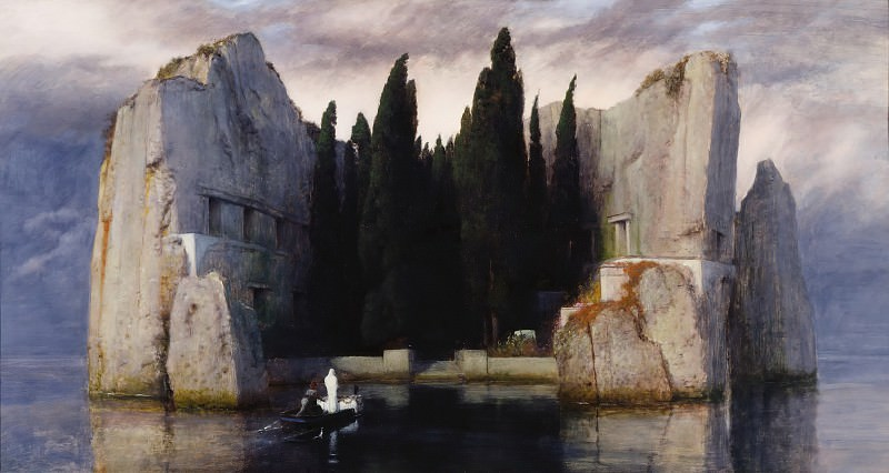 Arnold Bocklin (1827-1901) - The Isle of the Dead. Alte und Neue Nationalgalerie (Berlin)