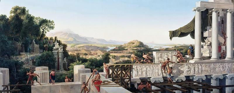August Ahlborn (1796-1857) - Greece s Golden Age. Alte und Neue Nationalgalerie (Berlin)