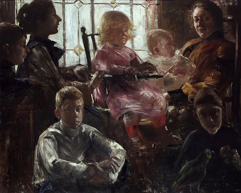 Коринт, Ловис (1858 - 1925) - Семья художника Фрица Румпфа. Старая и Новая Национальные Галереи (Берлин)