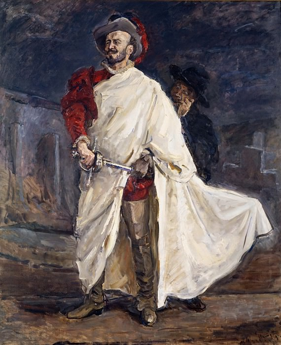 Max Slevogt (1868-1932) - The Singer Francisco d'Andrade as Don Giovanni in Mozart's Opera (The Red d'Andrade). Alte und Neue Nationalgalerie (Berlin)