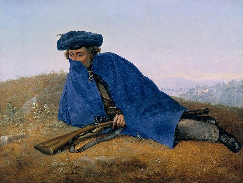 Керстинг, Георг Фридрих (1785-1847) - Застава. Старая и Новая Национальные Галереи (Берлин)