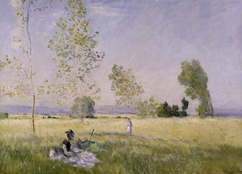 Claude Monet (1840-1926) - Summer. Alte und Neue Nationalgalerie (Berlin)
