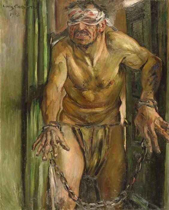 Lovis Corinth (1858 - 1925) - The Blinded Samson. Alte und Neue Nationalgalerie (Berlin)