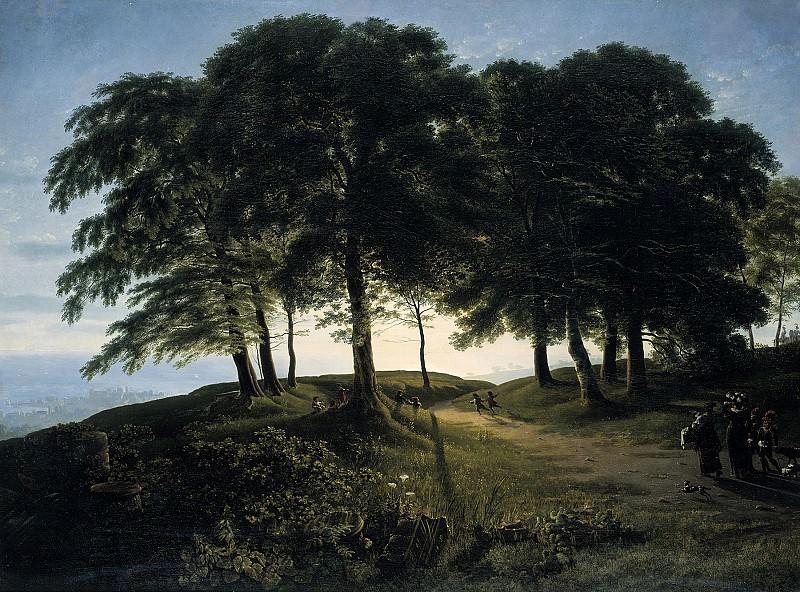 Karl Friedrich Schinkel (1781 - 1841) - Morning. Alte und Neue Nationalgalerie (Berlin)