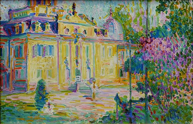 Curt Herrmann (1854-1929) - Schloß Belvedere bei Weimar. Alte und Neue Nationalgalerie (Berlin)