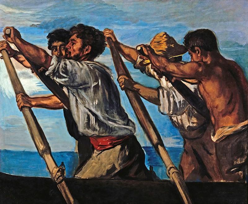 Hans von Marees (1837 - 1887) - The Rowers. Alte und Neue Nationalgalerie (Berlin)