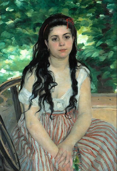 Pierre-Auguste Renoir (1841-1919) - Summer. Alte und Neue Nationalgalerie (Berlin)