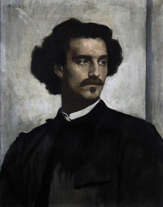 Anselm Feuerbach (1829 - 1880) - Self-Portrait. Alte und Neue Nationalgalerie (Berlin)