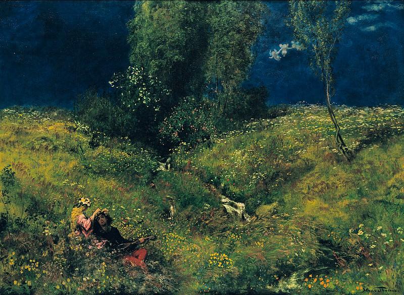 Hans Thoma (1839 - 1924) - Summer. Alte und Neue Nationalgalerie (Berlin)