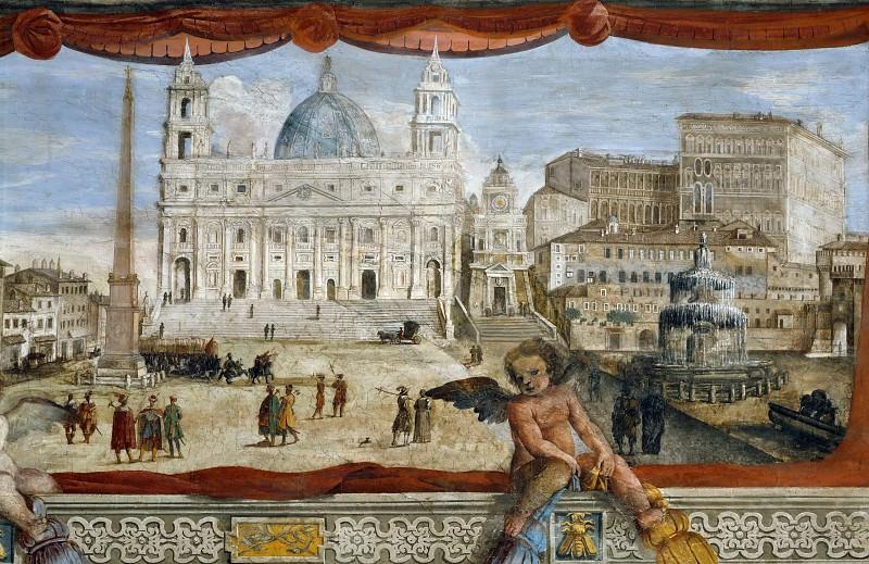 Anonymous Italian Artist - Saint Peter. Musei Vaticani - fresco