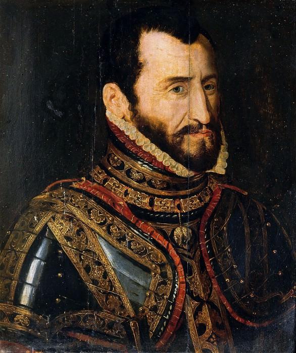 Maestro Veneto (16th cent.) - Portrait of Fernando Alvarez de Toledo duke of Alba. Borghese Gallery