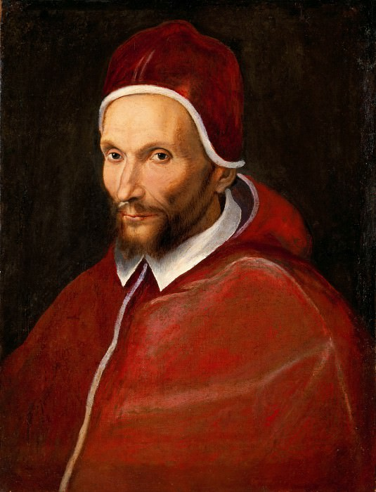 Italian School - Portrait of Pope Urban VII. Musei Vaticani