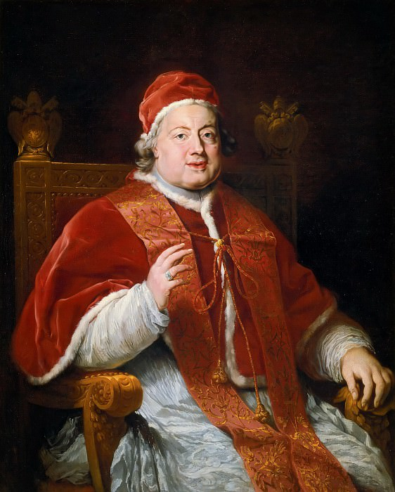 School of Rome - Portrait of Pope Clement XIII. Musei Vaticani