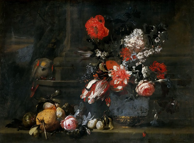 Dutch School - Flowers and Fruit. Musei Vaticani