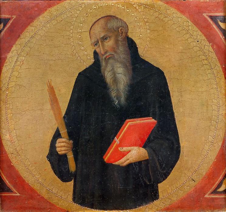 Italian School - Saint Benedict. Musei Vaticani