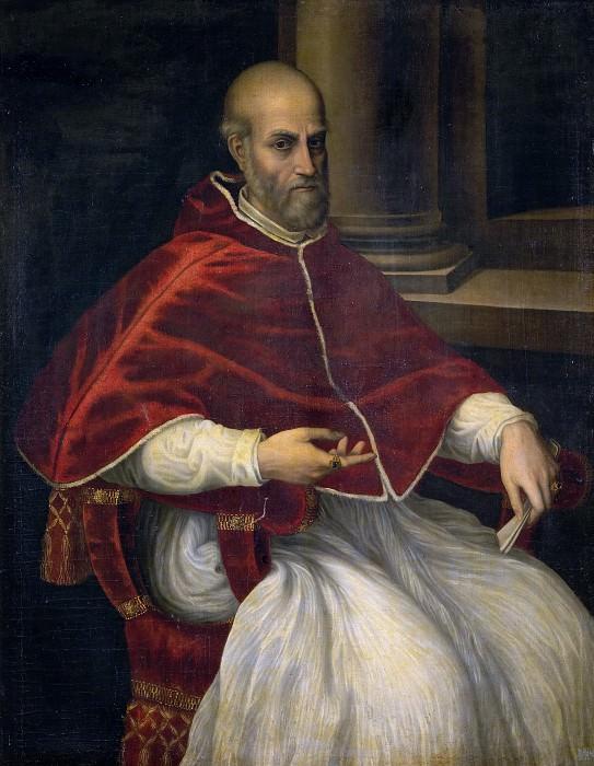 Italian Artist - Portrait of Pope Marcellus II Cervini. Musei Vaticani