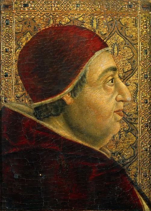 Spanish School - Portrait of Pope Alexander VI. Musei Vaticani