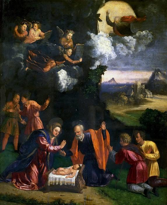 School of Ferrara, c.1500 - Nativity. Musei Vaticani