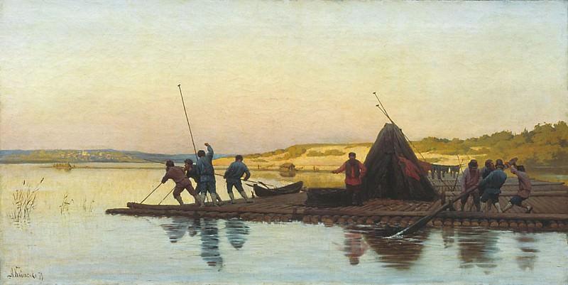 Плотовщики 1879. Alexey Kivshenko
