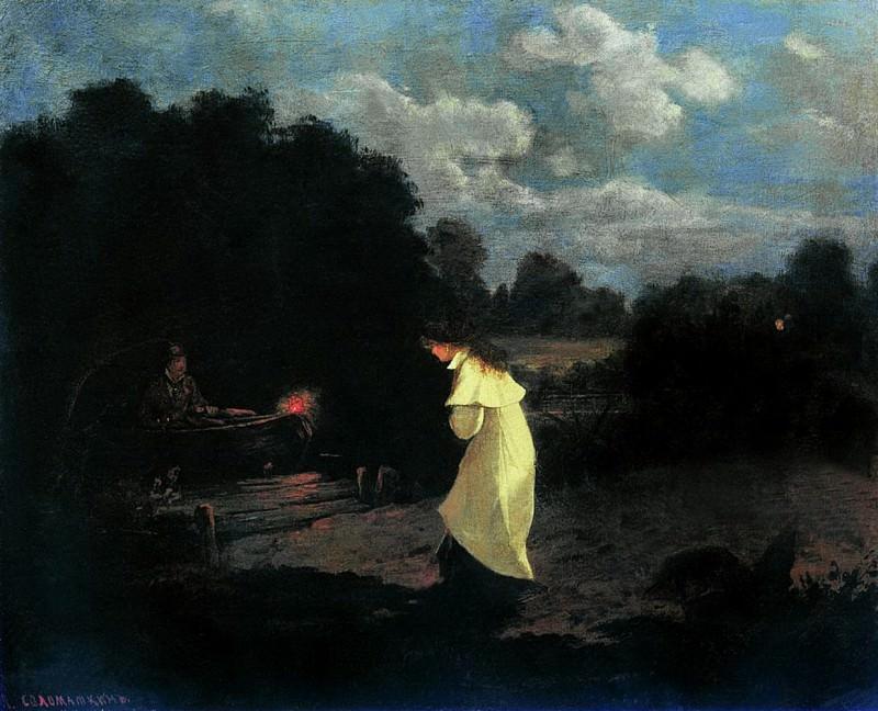 Свидание. 1880. Leonid Solomatkin