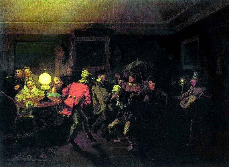 Ряженые. 1873. Leonid Solomatkin