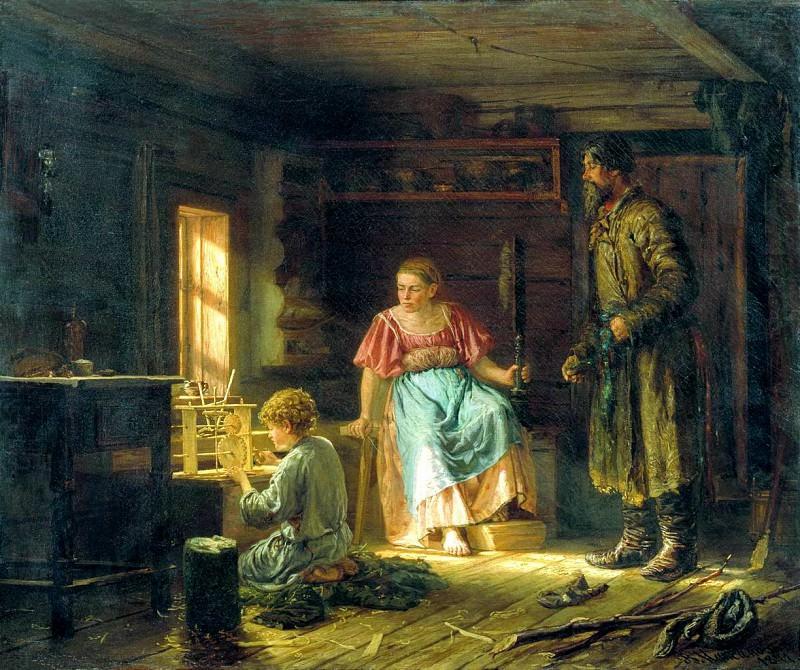 Мальчик-механик. 1871. Василий Максимов