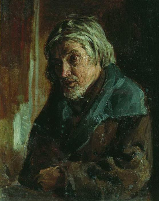 Старик-крестьянин. Василий Максимов
