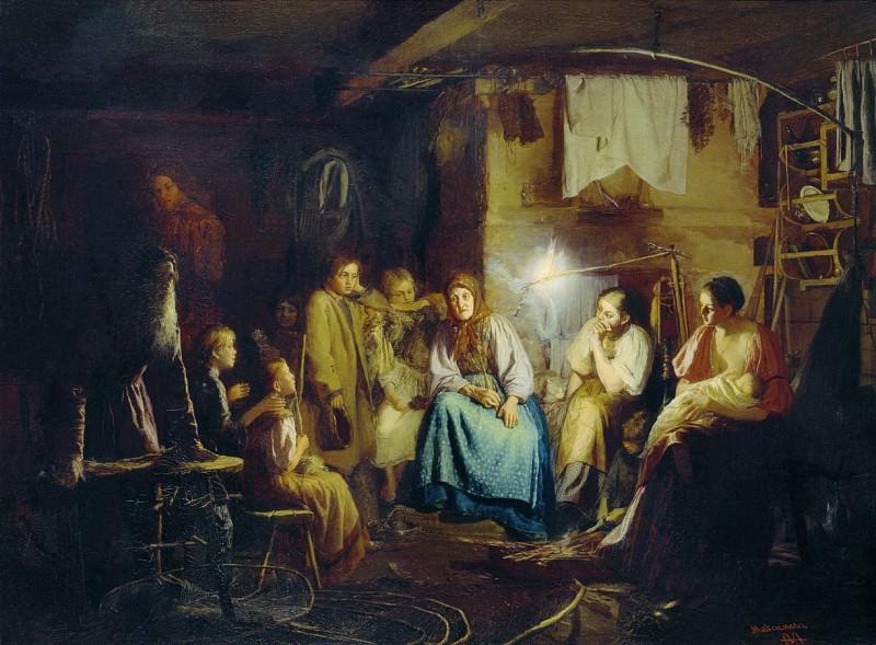 Бабушкины сказки. 1867. Vasily Maksimov