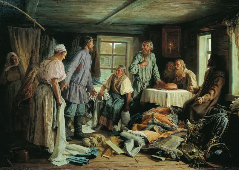 Family separation. Vasily Maksimov