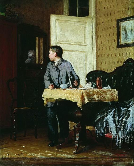 По примеру старших. 1864. Vasily Maksimov