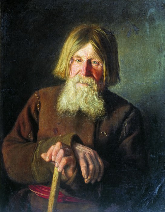 Старик. 1881. Василий Максимов